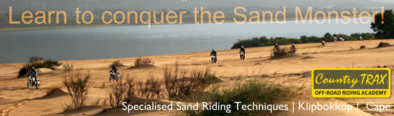 country trax sandriding course